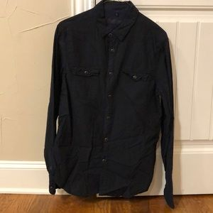 Rogue State Long Sleeved Button Down